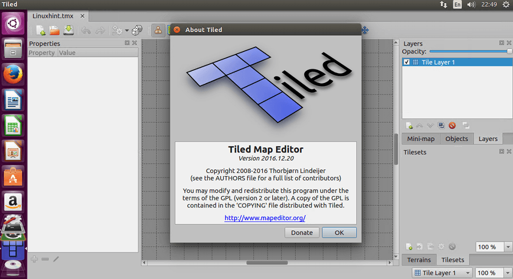 Install Tiled Map Editor on Ubuntu Linux | Linux Hint