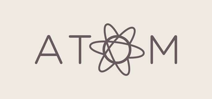 atom text code editor
