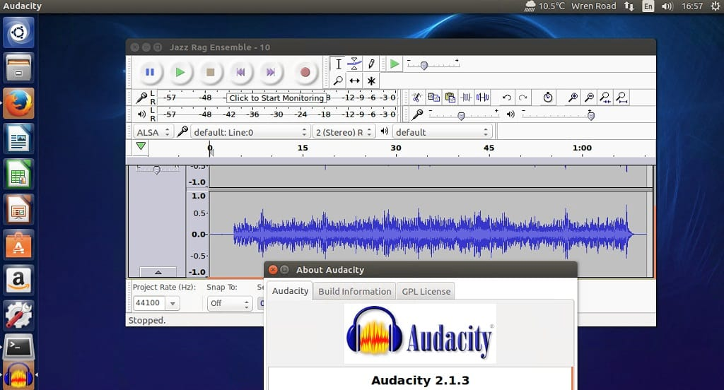 Audacity 2 1 3 Audio Editor Released with FFmpeg/libav