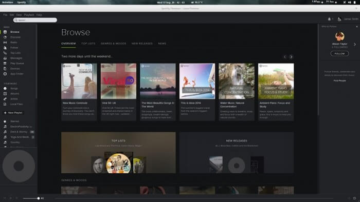 install spotify for linux