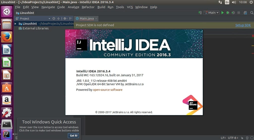 IntelliJ IDEA 2016 3 4 Community Edition out, Install on