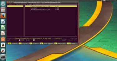 Musikcube Terminal Based Music Player