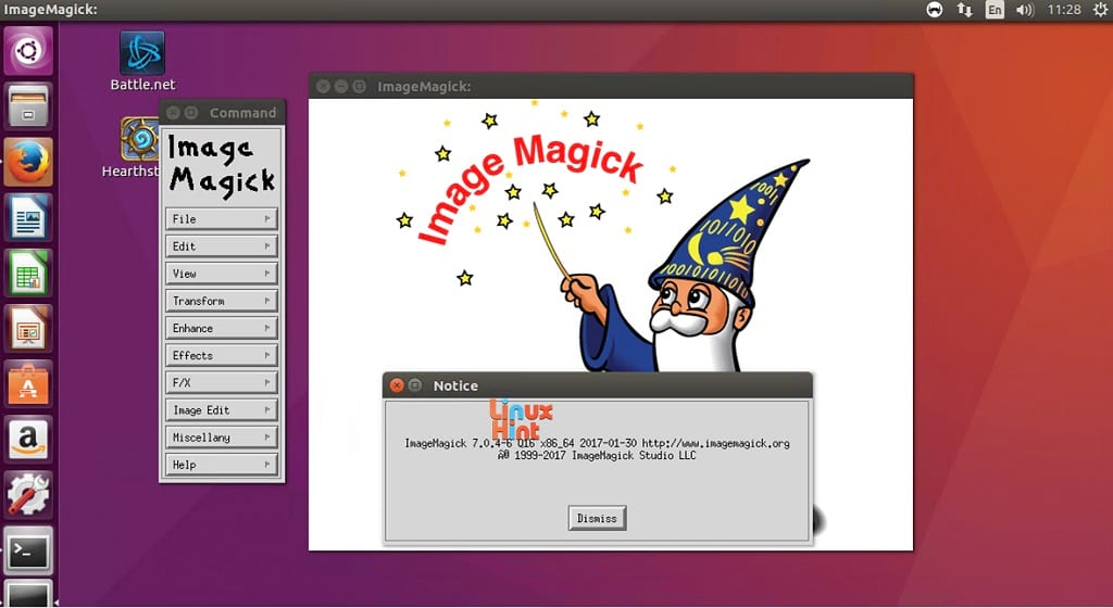 ImageMagick for Windows freeware screenshot