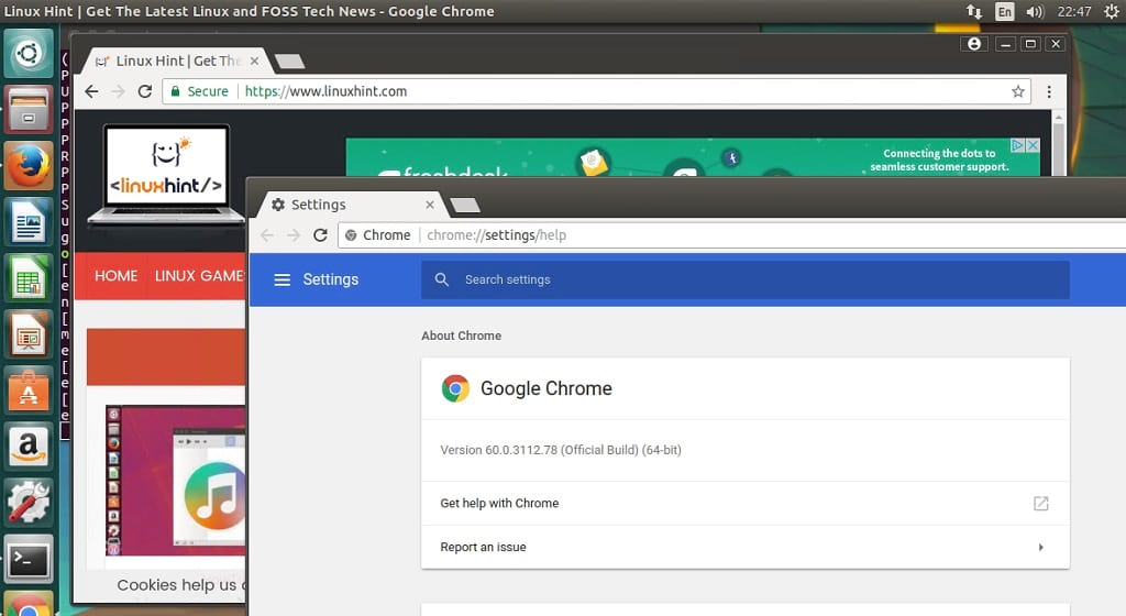 Install Google Chrome 60 Stable Release on Ubuntu – Linux Hint
