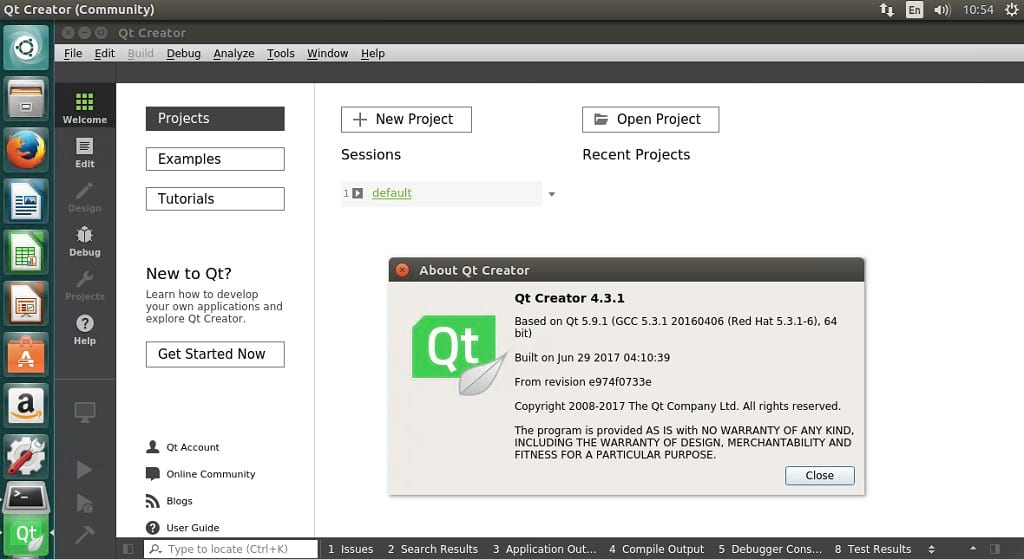 How to install Qt 5 9 1 (Qt Creator 4 3 1 included) on