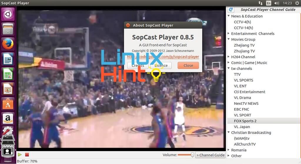 sopcast player