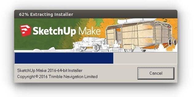 install SketchUp Make