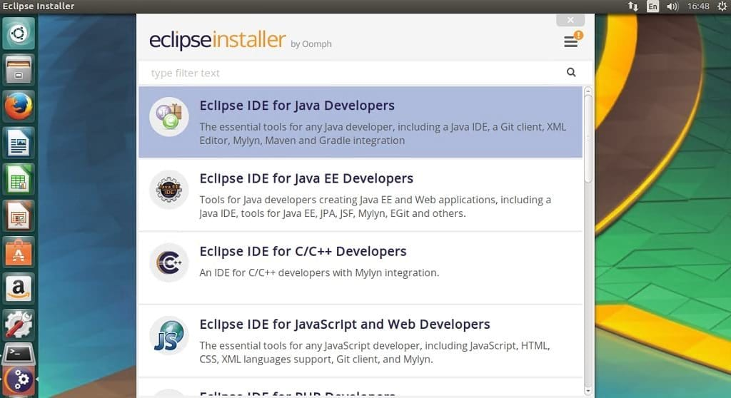 install eclipse in ubuntu