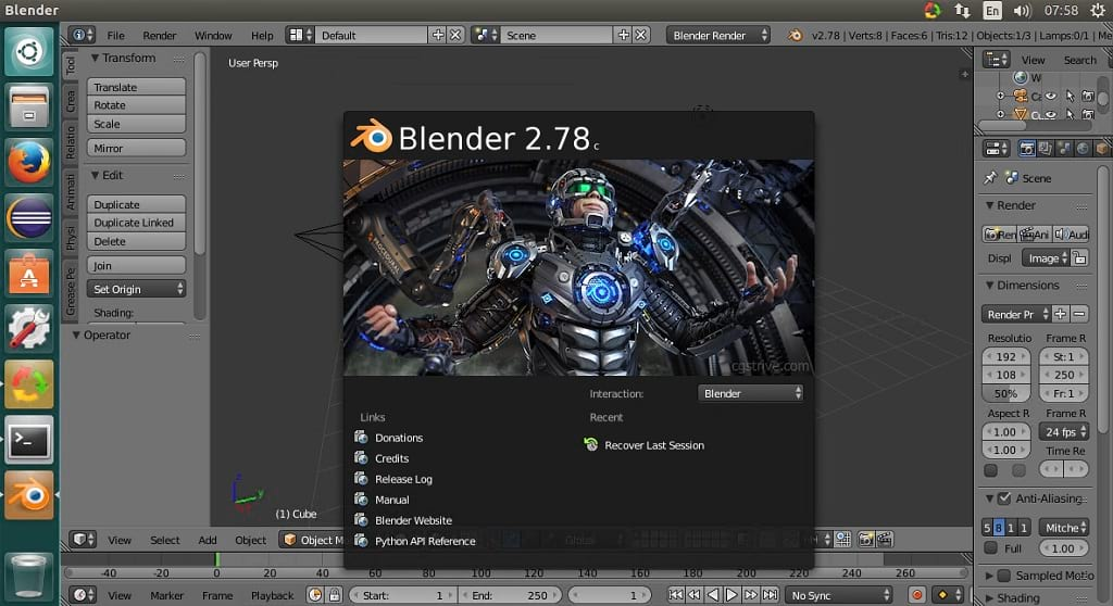 How To Install Blender A 3d Creation Suite On