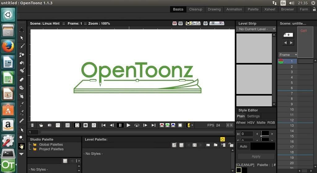 Install OpenToonz Animation Maker 2D App on Ubuntu 17.04 & Below ...