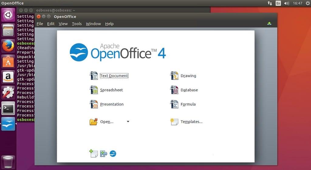 Apache open office mac mojave
