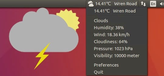 Simple Weather Indicator