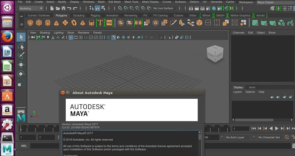Install autodesk maya 2017 on ubuntu ubuntu for Autodesk maya templates