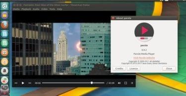 install Parole Media Player