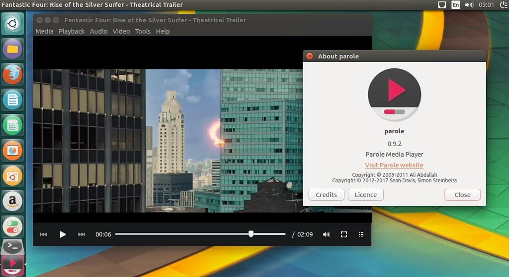 How to install Parole Media Player 0 9 2 released on Ubuntu