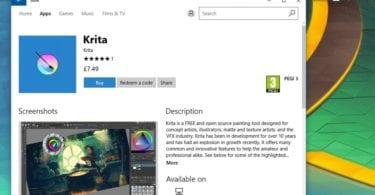 Inkscape, Krita