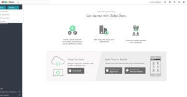 Microsoft Office Alternatives for Linux zoho docs