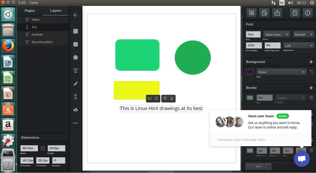 How to install vectr a free vector graphics software on Online vector drawing program