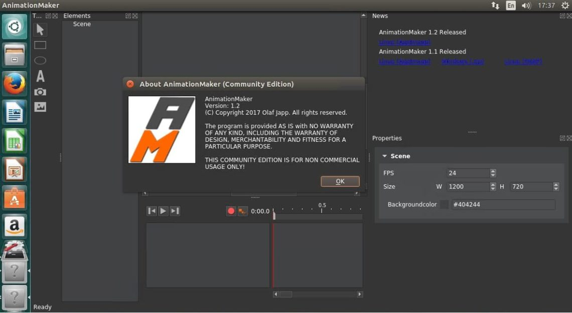 Create Animated Presentations with AnimationMaker – Linux Hint