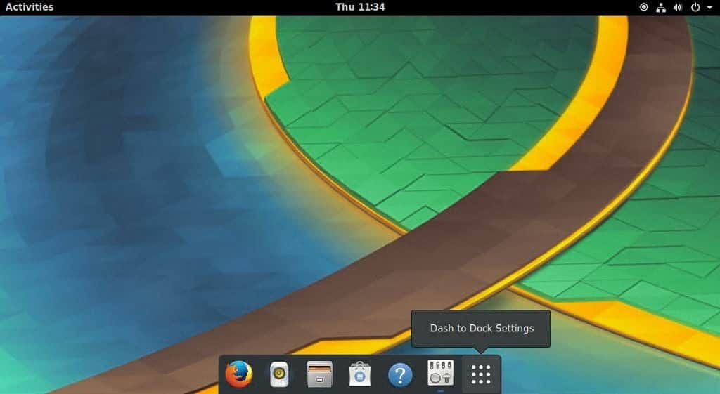 GNOME Shell Dash to Dock