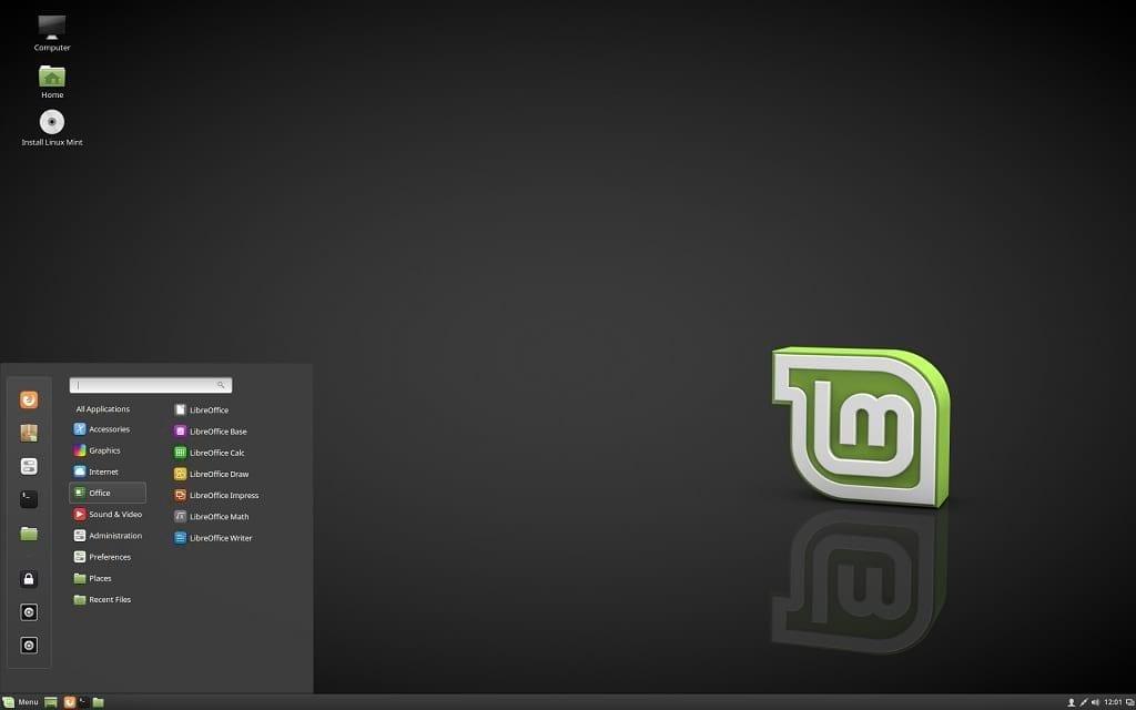 Linux Mint 18.2 Cinnamon Edition