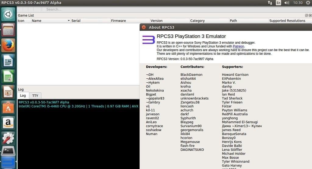 PS3 Emulator RPCS3