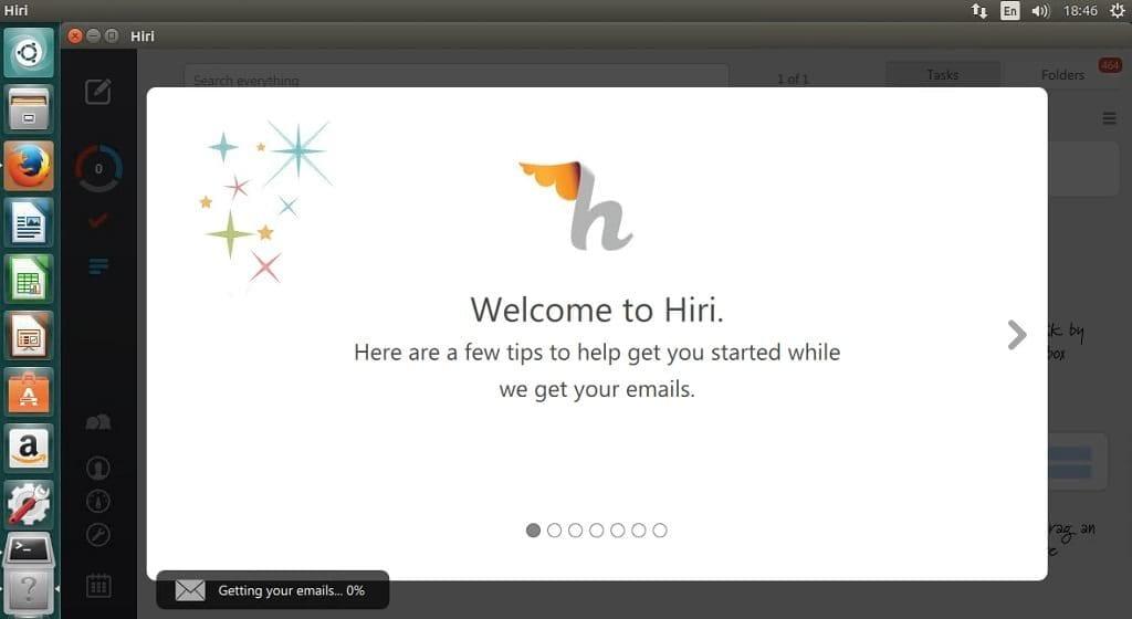 hiri email client