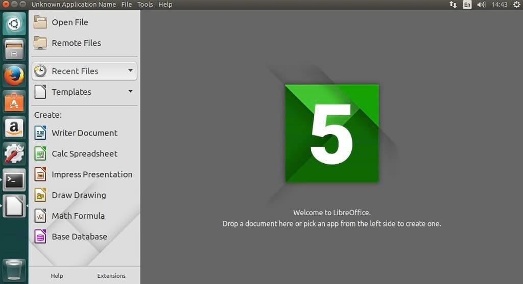 install LibreOffice 5.4