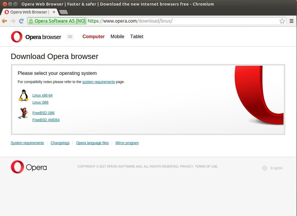 Opera Web Browser for Ubuntu – Linux Hint