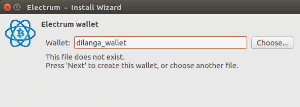 Setup Bitcoin Wallet Ubuntu Part 1