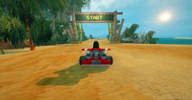 SuperTuxKart Island 2