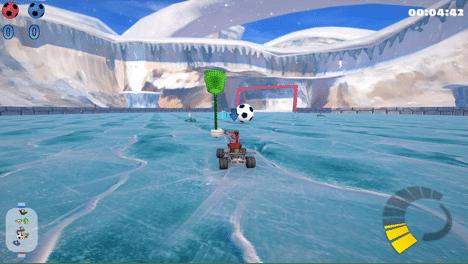 SuperTuxCart On Ice Screenshot 2