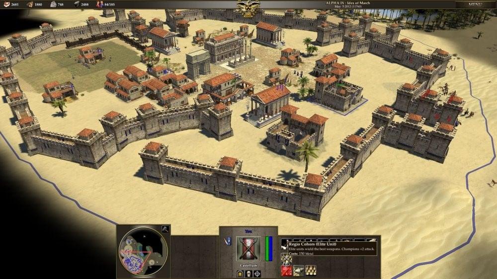 Screen Shot 0AD Game