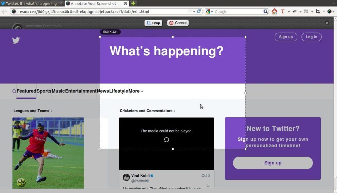 Awesome Screenshot Plus Firefox Addon
