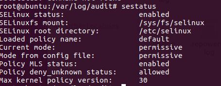 SELinux Terminal 2
