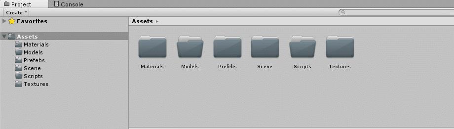 Unity3D Folders