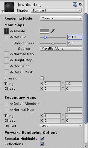 Unity3D Settings