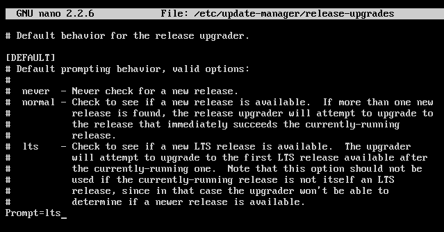 Upgrade Ubuntu ScreenShot