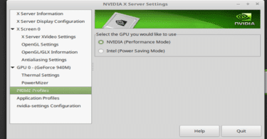 Install Nvidia Drivers LinuxMint