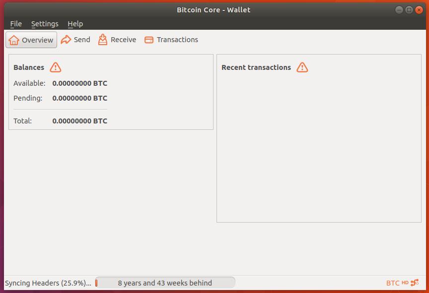 bitcoin client ubuntu