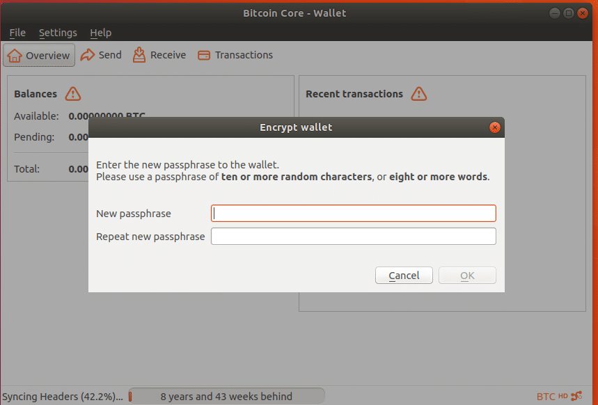 how to use bitcoin core