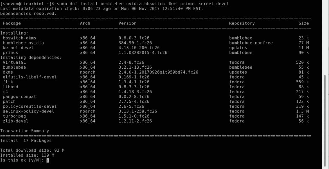 Install Nvidia Drivers on Fedora – Linux Hint