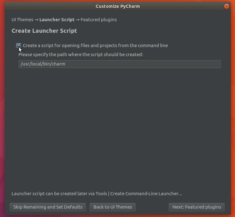 how to download pycharm for ubuntu