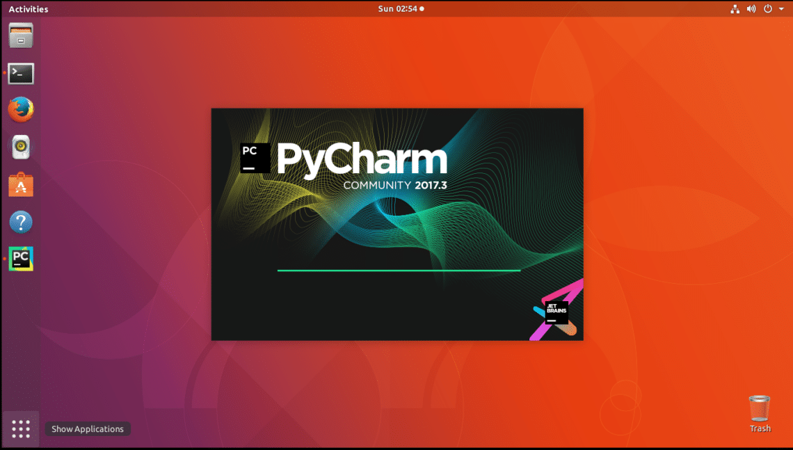 install pycharm on ubuntu