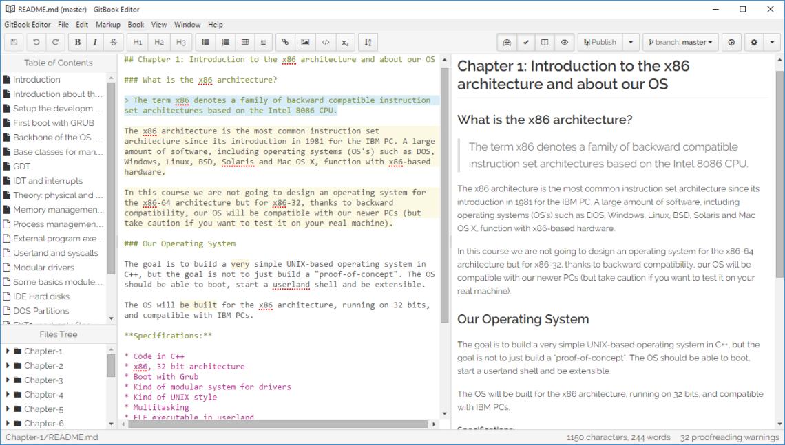 GitBook Editor
