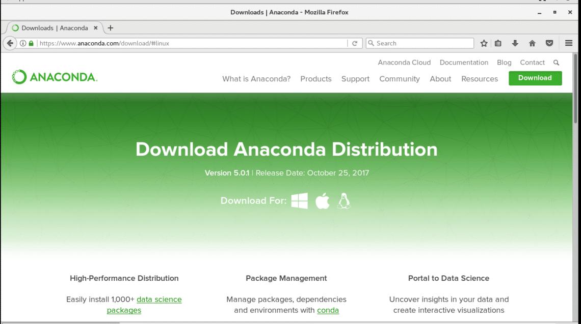 Install Anaconda Python on CentOS 7 – Linux Hint