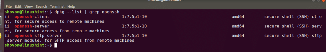 Ubuntu: Get a List of Installed Packages – Linux Hint