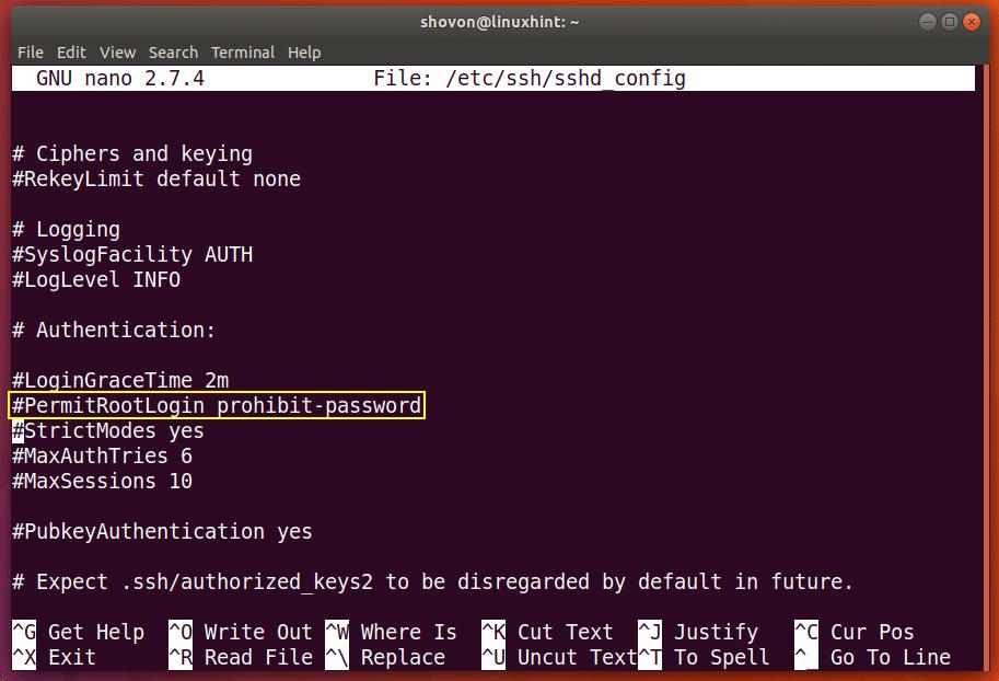 Enable SSH Server on Debian – Linux Hint