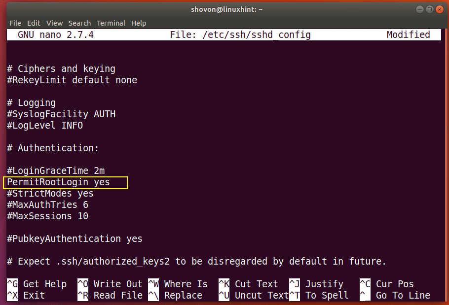 Enable SSH Server on Debian – Linux Hint