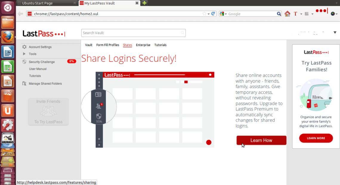Install LastPass Ubuntu – Linux Hint